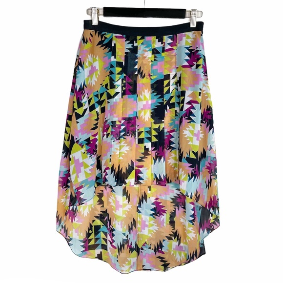 W118 by Walter Baker Hi-Low pleated Skirt